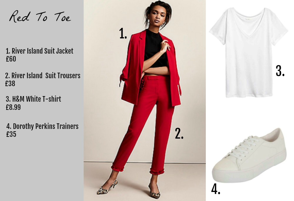 red to toe aw17 trend